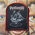Onslaught - Patch - Onslaught - Power From Hell official woven patch by DarkProds