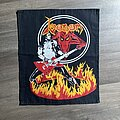 Venom - Patch - Venom - Cronos in Fire backpatch