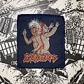 Exodus - Patch - vintage Exodus - Bonded By Blood woven patch