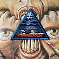 Annihilator - Never, Neverland woven triangle patch