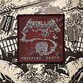 Metallica - Patch - Metallica - Creeping Death VTG woven patch (red border)