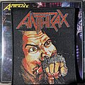 Anthrax - Fustful of Metal woven patch