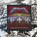 Metallica - Patch - vintage Metallica - Master Of Puppets woven patch (green border)