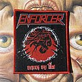 Enforcer - Patch - Enforcer - Death By Fire woven patch
