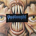 Vintage Onslaught woven logo patch