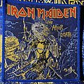 Iron Maiden - Patch - Vintage Iron Maiden - Live after Death woven patch