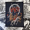 Slayer - Patch - vintage Slayer - Hell Awaits woven patch