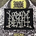 Napalm Death embroidered logo patch