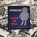 Annihilator - Patch - vintage Annihilator - Alice in Hell woven patch
