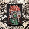 Metal Church - Patch - vintage Metal Church - Fake Healer woven patch