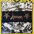 Venom - Patch - vintage Venom - Welcome To Hell woven superstrip patch