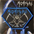 Midnight - Black Rock 'N' Roll woven patch
