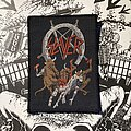 Slayer - Patch - Slayer - Hell Awaits VTG woven patch for the FetusKiller!