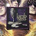 Lamb Of God - Patch - Lamb of God - Sacrament woven patch (purple glitter border)
