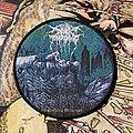 Darkthrone - Patch - Darkthrone - Ravishing Grimness woven circular patch