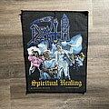 Death - Patch - vintage Death - Spiritual Healing backpatch