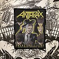 Anthrax - Patch - vintage Anthrax - Among the Living woven patch