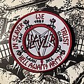 Slayer - Patch - Slayer embroidered fan club patch