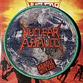 Nuclear Assault - Handle with Care circular woven patch