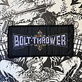 Bolt Thrower - Patch - vintage Bolt Thrower woven superstrip patch