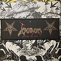 Venom - Patch - vintage Venom - Welcome to Hell woven strip patch