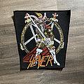 Slayer - Patch - vintage Slayer - Show No Mercy backpatch
