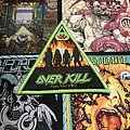Overkill - Feel the Fire triangle patch (green border)