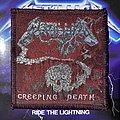 Vintage Metallica - Creeping Death woven patch