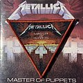 Metallica - Master of Puppets woven triangle patch