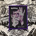 Coroner - Patch - vintage Coroner - Mental Vortex (purple border)