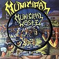 Municipal Waste - The Art of Partying woven circular patch