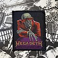 Megadeth - Patch - vintage Megadeth - Peace Sells... But Who's Buying? woven patch