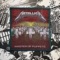 Metallica - Patch - Metallica - Master of Puppets VTG woven patch (green border)