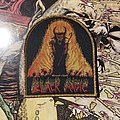 Black Magic - Patch - Black Magic - Wizard's Spell woven patch (gold glitter border)