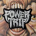 Power Trip embroidered logo patch