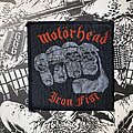 Motörhead - Patch - vintage Motörhead - Iron Fist woven patch