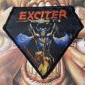 Exciter - Patch - Exciter - Long Live the Loud woven diamond patch by Dark Prods
