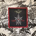 Celtic Frost - Patch - Celtic Frost - Morbid Tales VTG woven patch (red border)