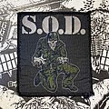 S.O.D. - Patch - vintage S.O.D. - Stormtroopers Of Death woven patch