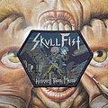 Skull Fist - Heavier than Metal woven patch
