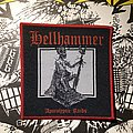 Hellhammer - Patch - Hellhammer - Apocalyptic Raids woven patch