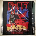 Cancer - Death Shall Rise woven backpatch by AWHP