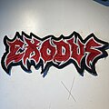 Exodus - Patch - Exodus embroidered logo backpatch