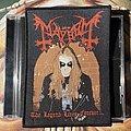 Mayhem - The Legend Lives Forever woven patch