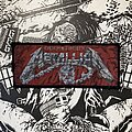 Metallica - Patch - Vintage Metallica - Creeping Death woven stripe patch