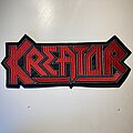 Kreator - Patch - Kreator embroidered back patch