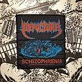 Sepultura - Patch - vintage Sepultura - Schizophrenia woven patch