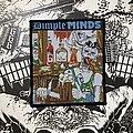 Dimple Minds - Patch - vintage Dimple Minds - Durstige Männer woven patch