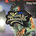 King Diamond - Patch - King Diamond embroidered logo patch