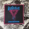 Destruction - Patch - Destruction - Infernal Overkill woven patch (pink border)